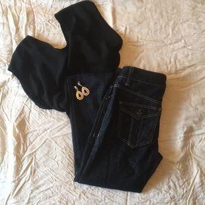 Burberry Brit Dark Blue Jeans